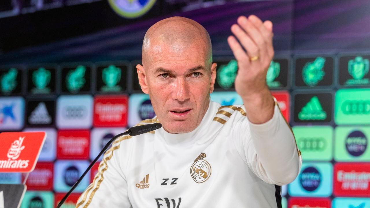 Zidane comparece ante los medios