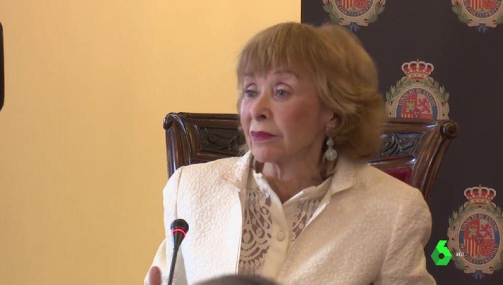 Fernández de la Vega pide que los expresidentes del Gobierno estén en el Consejo de Estado
