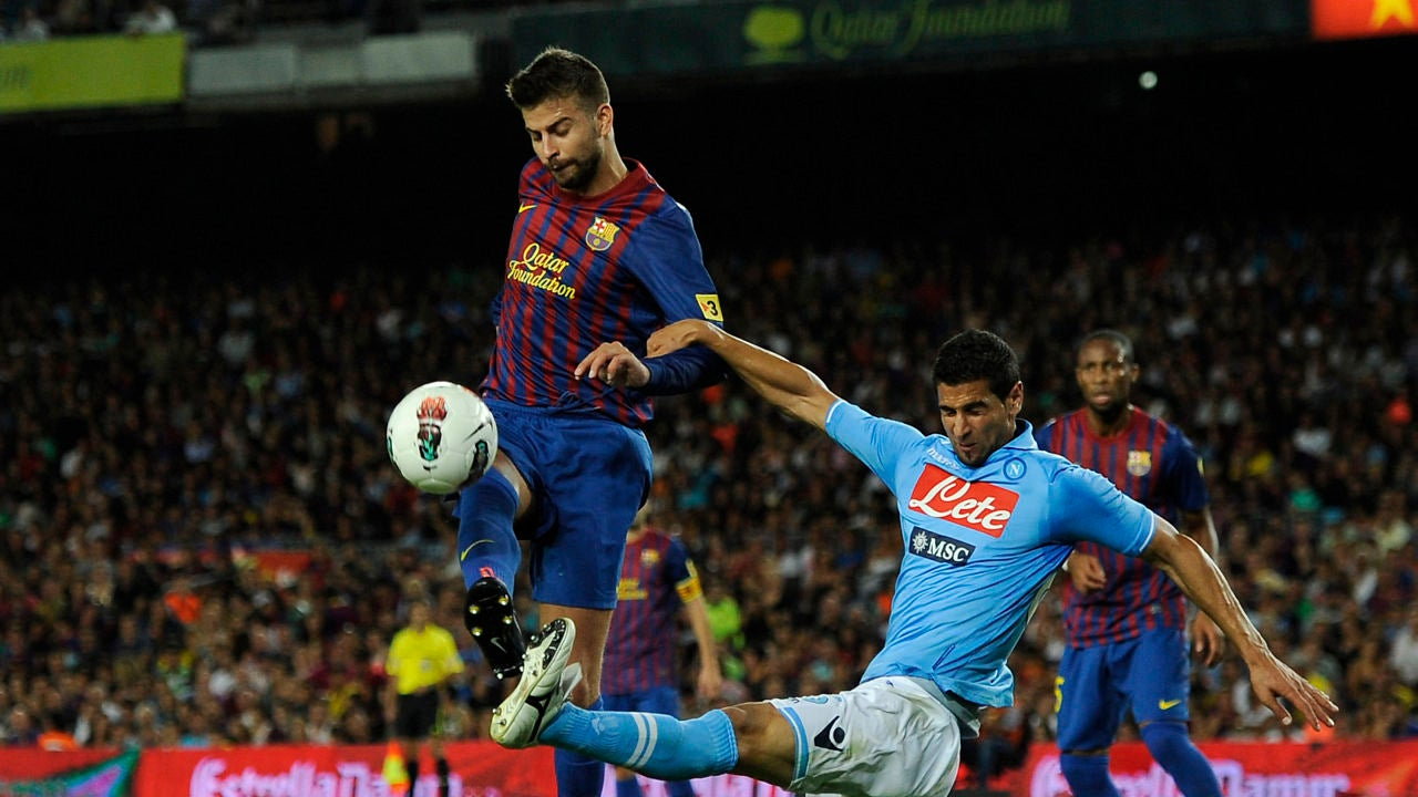 FC Barcelona frente al SSC Napoli