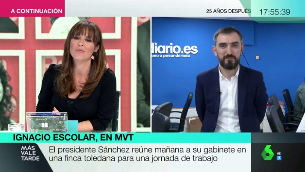 """Ignacio Escolar: """"Los pronósticos sobre cómo iba a hacer la cohabitación entre PSOE y Podemos no se han cumplido"""""""