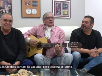 Los Chichos cantan para laSexta Columna