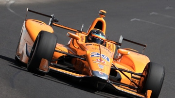 Fernando Alonso en la Indianápolis 2019 con McLaren