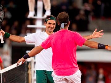 Roger Federer y Rafa Nadal