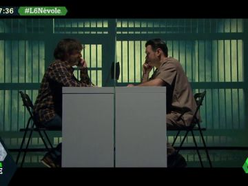 """La broma de Jordi Évole a Iñaki López tras 'entrar' en prisión: """"LaSexta Noche va muy bien sin ti, lo está presentando Wyoming"""""""
