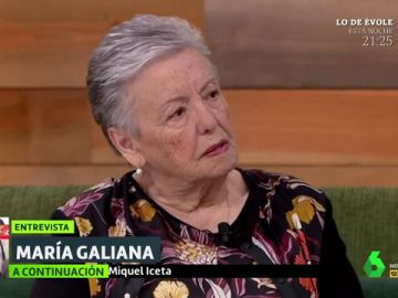 María Galiana en Liarla Pardo