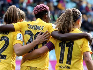 El Barcelona vence en la final de la Supercopa de España femenina