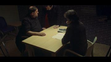 Oriol Junqueras y Jordi Évole