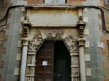 Vista general de la fachada de la Audiencia Provincial de Toledo.