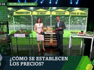 Te explicamos cómo suben los precios de frutas y verduras desde su origen hasta su venta en supermercados
