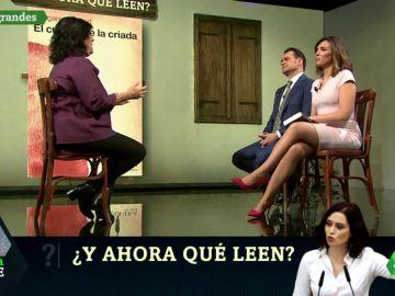 Díaz Ayuso, Ortega Smith o Pablo Iglesias: estos son los libros que Almudena Grandes regalaría a los políticos