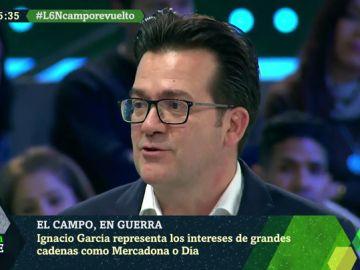 """Ignacio García, distribuidor: """"Si los precios que pusiéramos no fueran competitivos el consumidor cambiaría de establecimiento"""""""