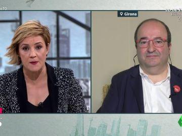 """Iceta """"no pactaría"""" con JxCAT y ERC: """"Pensar que nos acercamos a los independentistas es tener un defecto de visión importante"""""""