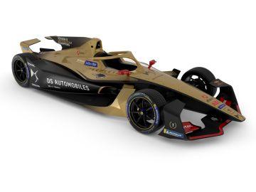 La Gen2 Evo de Fórmula E con los colores de DS Techeetah