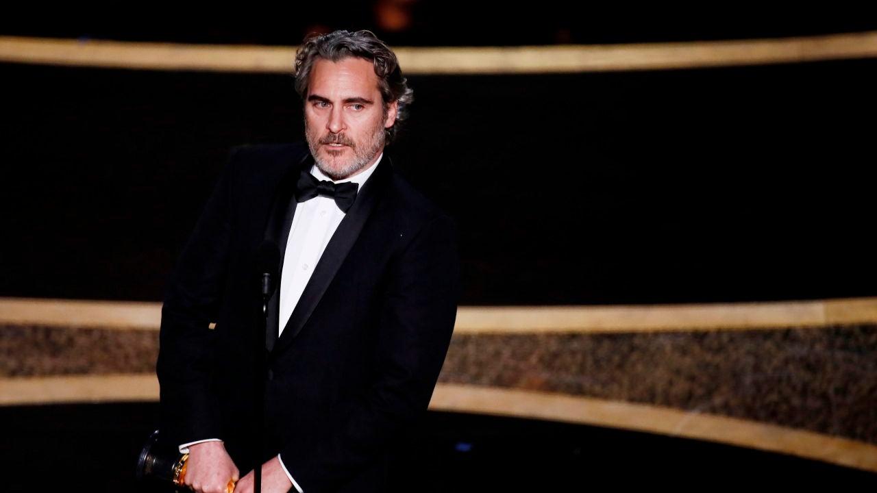 Joaquin Phoenix, Mejor Actor por su papel en 'Joker'
