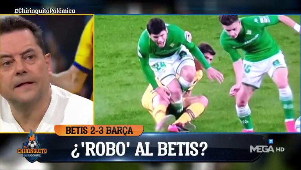 """Tomás Roncero no se muerde la lengua: """"La Liga podría estar acabada y se han puesto nerviosos"""""""