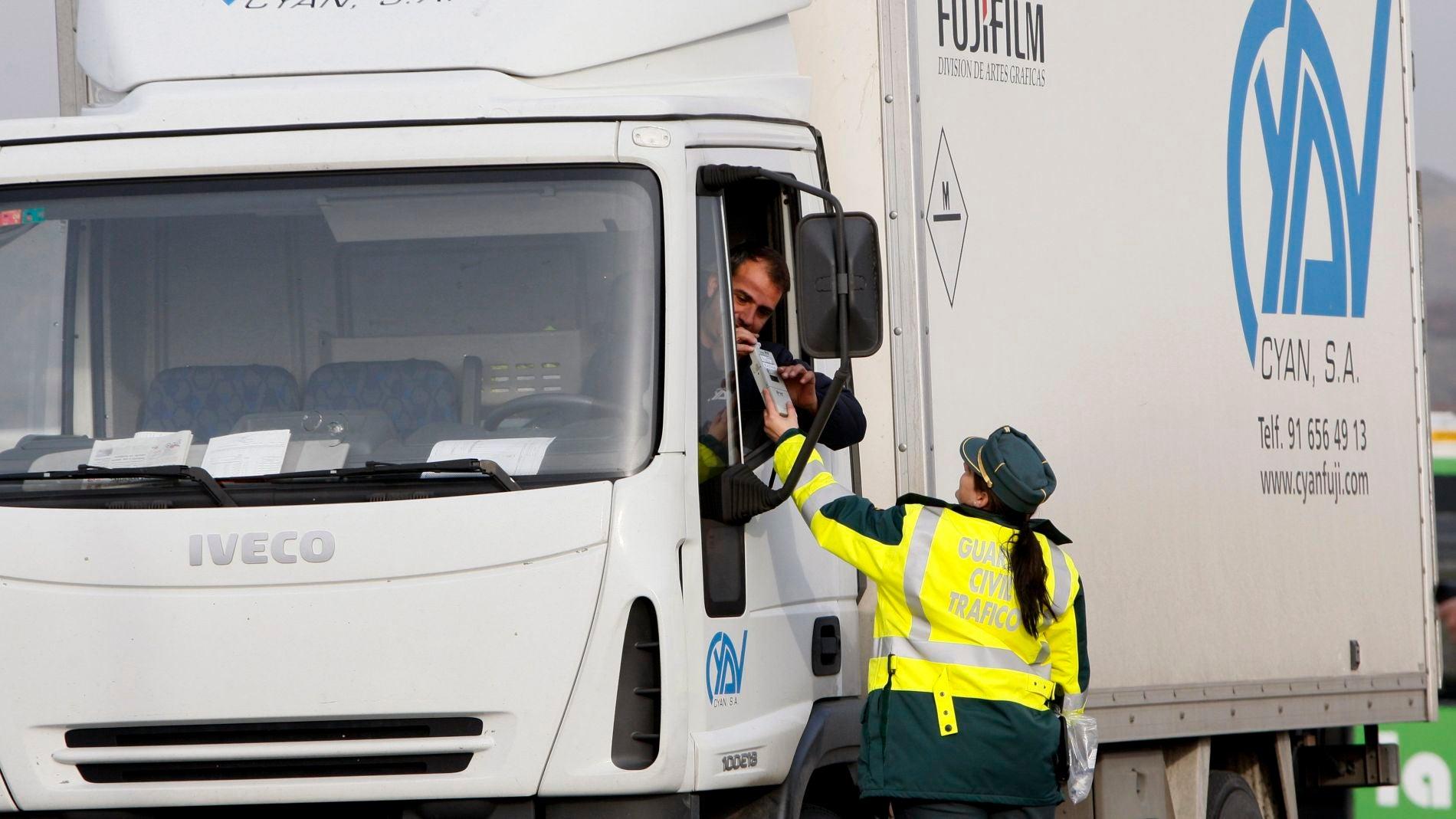Control de camiones