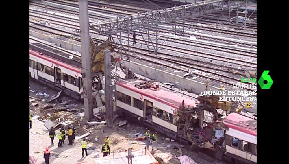Imagen de los atentados de Atocha