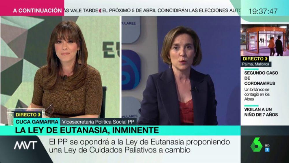 Mamen Mendizábal entrevista a Cuca Gamarra