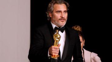 Joaquin Phoenix en los Oscar 2020