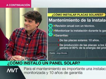 Los consejos para instalar placas solares: ¿cuánto hay que invertir y a partir de cuándo es rentable?