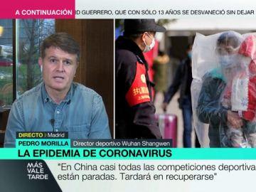 """Pedro Morilla, uno de los españoles repatriados: """"Volveremos a Wuhan cuando las condiciones sean seguras"""""""