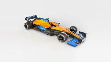 El McLaren MCL35 de la temporada 2020