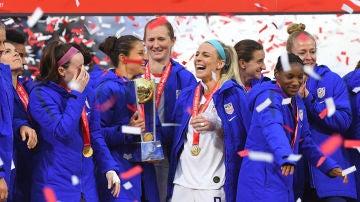 La Selección femenina de fútbol de Estados Unidos gana el mundial