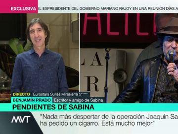 """""""Pedir un cigarrito"""": esto es lo primero que ha hecho Joaquín Sabina tras despertar de su intervención"""