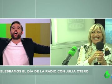 Julia Otero saca los colores a Dani Mateo