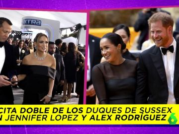 La cita doble entre Harry y Meghan Markle con Jennifer López y Álex Rodríguez y otras novedades de su nueva vida de celebrities
