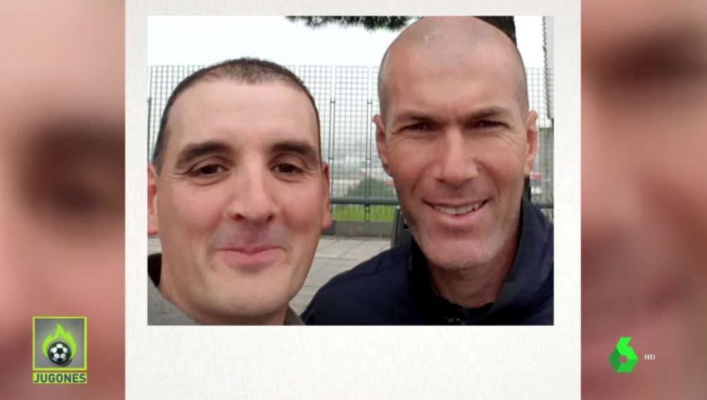 Zidane golpea con su coche a un aficionado... y éste le pide un selfie