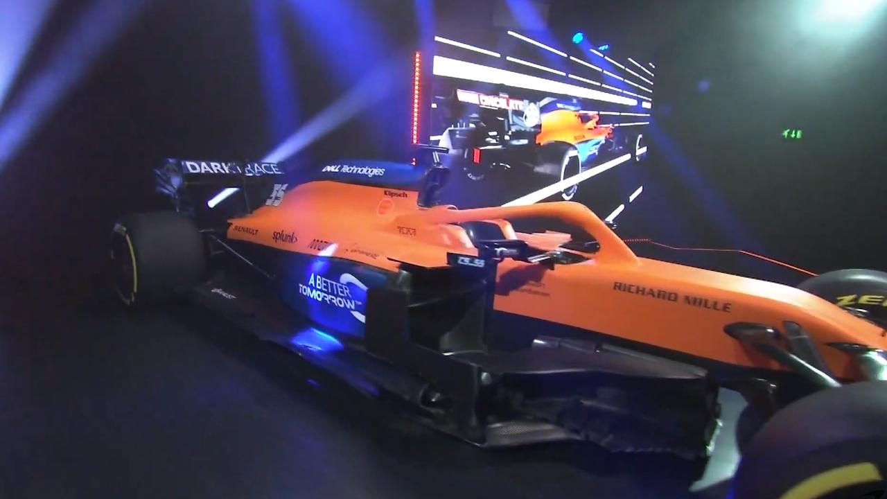 McLaren presenta el MCL35, el monoplaza para la temporada 2020