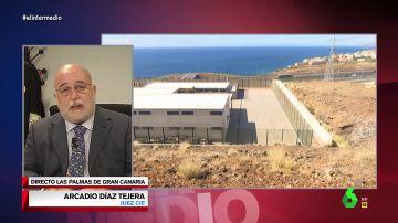 """La denuncia del juez encargado del centro de migrantes de Barranco Seco: """"Es un centro carcelario y no han cometido ningún hecho delictivo"""""""