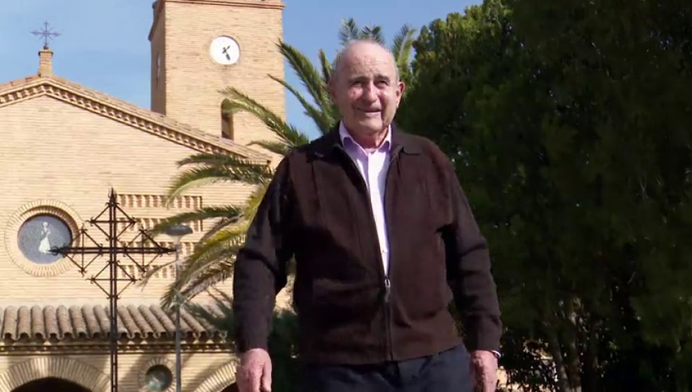 """Luis Soriano, colono de la dictadura en El Temple: """"Dicen que Franco nos dio este pueblo, pero si hubiera sido suyo no lo habría dado"""""""