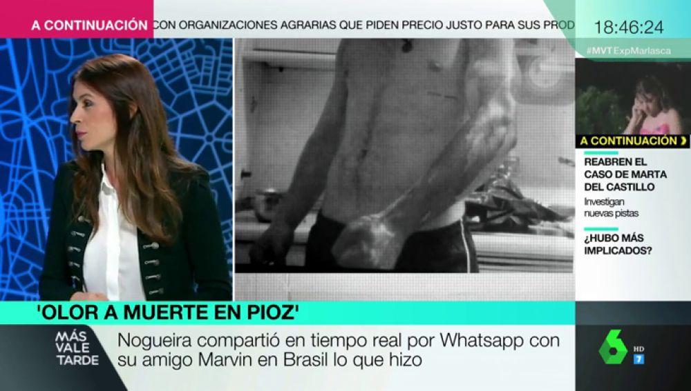 Beatriz Osa, periodista de Más Vale Tarde