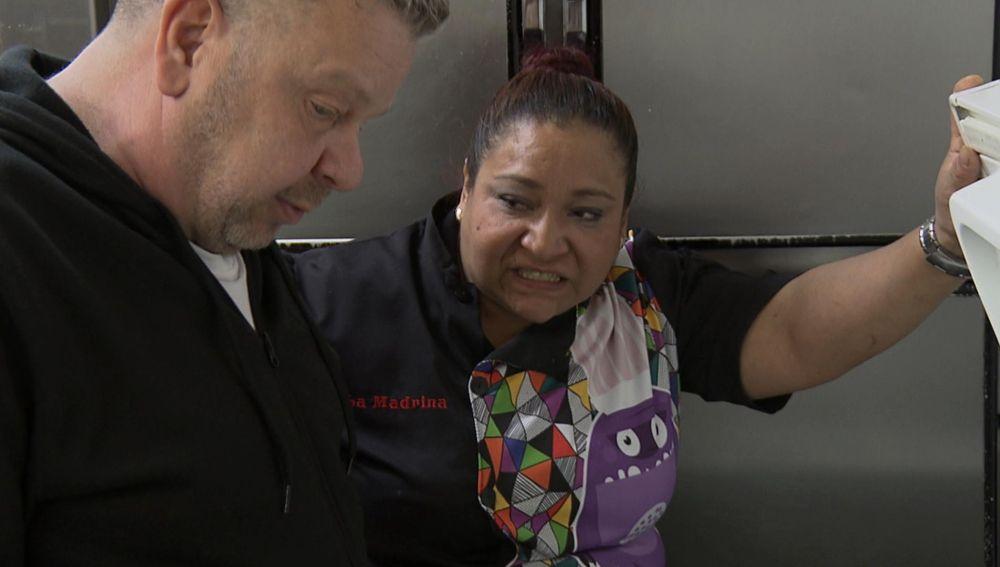 'La Madrina' pone a prueba la paciencia del chef con su fuerte carácter