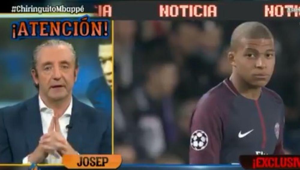 Exclusiva de Josep Pedrerol sobre Mbappé.
