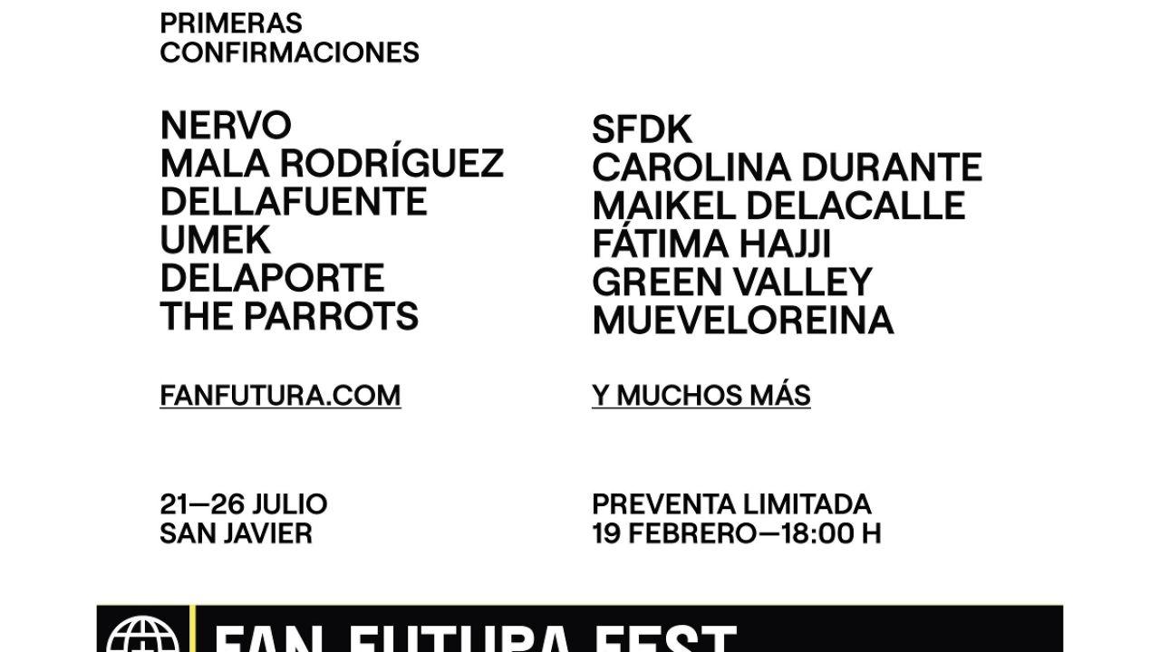 Nace el Festival Fan Futura en Murcia con Carolina Durante y Mala Rodríguez