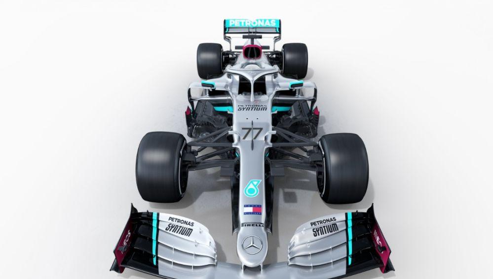 El nuevo Mercedes.