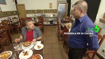"""Alberto Chicote se enfrenta a 'A Cañada', un restaurante asturiano con 25 años de historia cuya comida típica es """"de lata"""""""