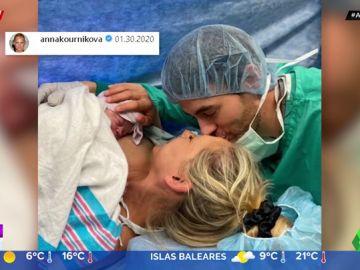 Enrique Iglesias y Anna Kournikova presentan a su hija recién nacida en Instagram