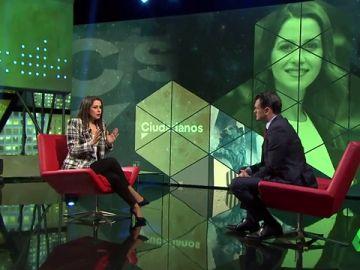 """Inés Arrimadas: """"No estamos gobernando en ningún sitio con Vox, lo hacemos con el PP"""""""