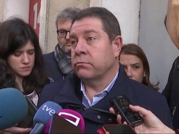 """García-Page: """"Debe haber diálogo transversal con la mayoría de la investidura y también con la oposición"""""""
