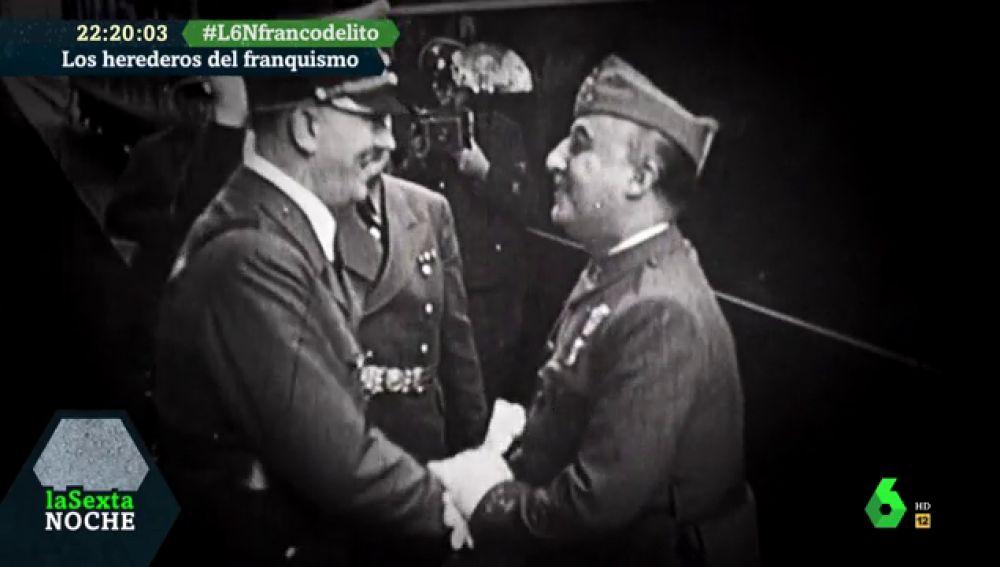Franco con Hitler