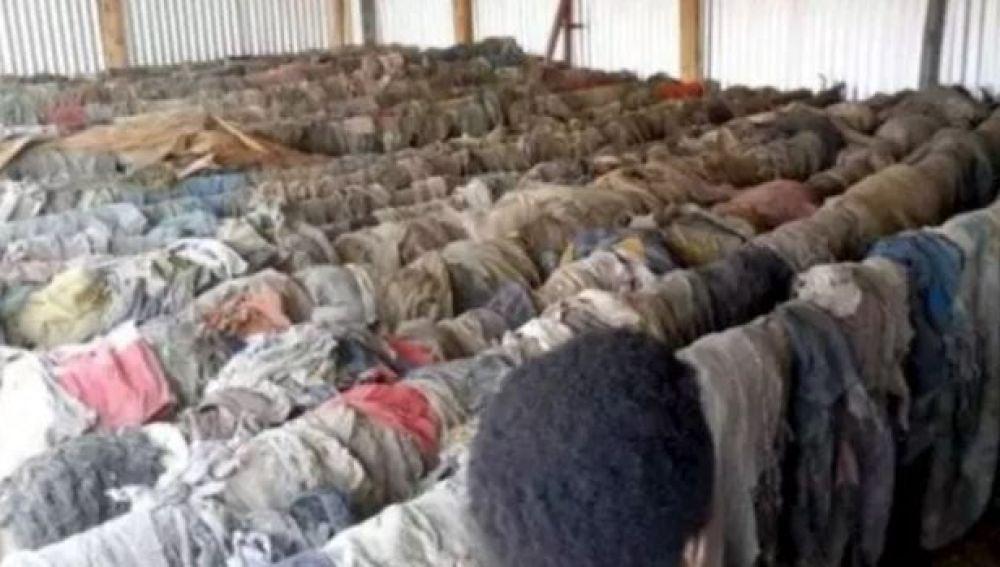 Fosas comunes en Burundi