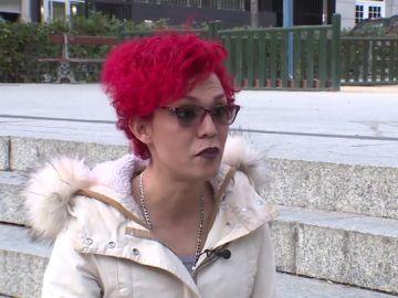 Vicky, víctima de una agresión LGTBIfóbica