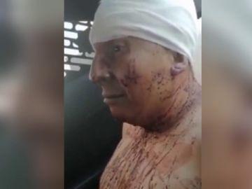Imagen del hombre que asesinó a su pareja en México