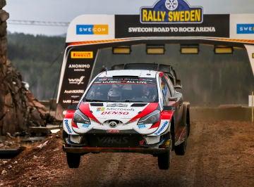 Elfyn Evans logra en Suecia su segunda victoria