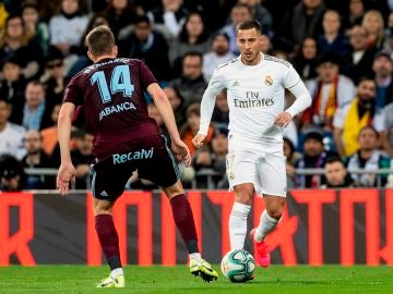 Eden Hazard, en su vuelta tras lesión