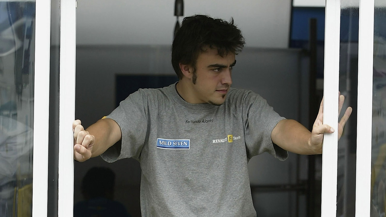 Fernando Alonso, en Renault